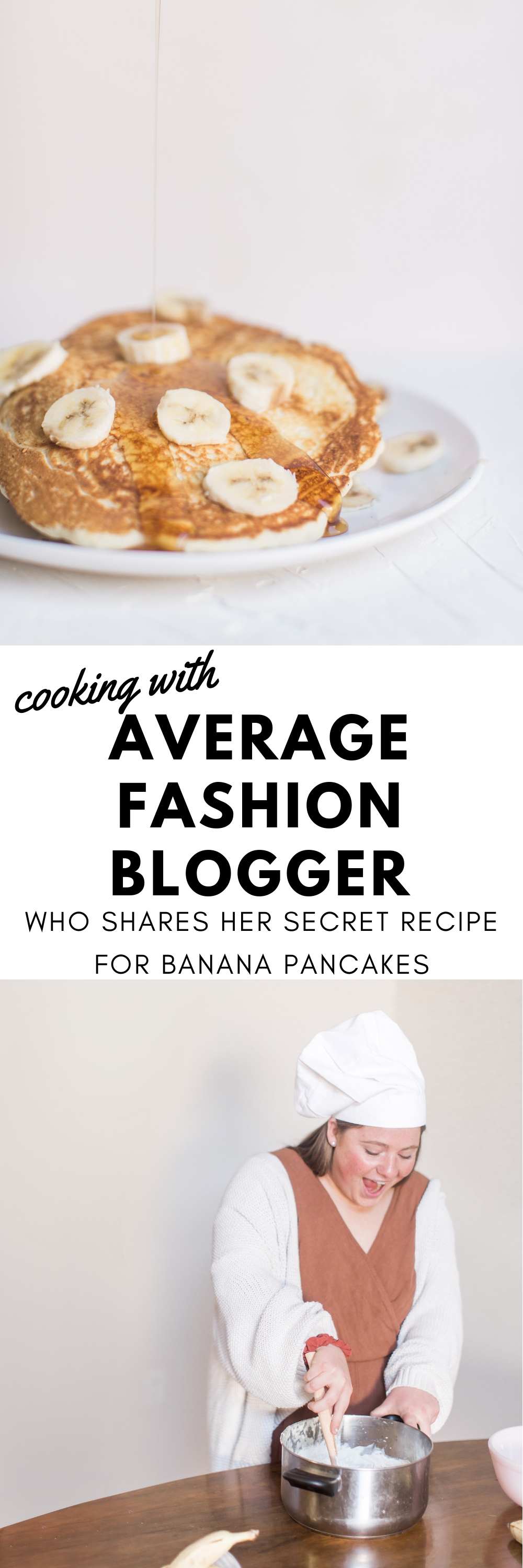 cooking with average fashion blogger