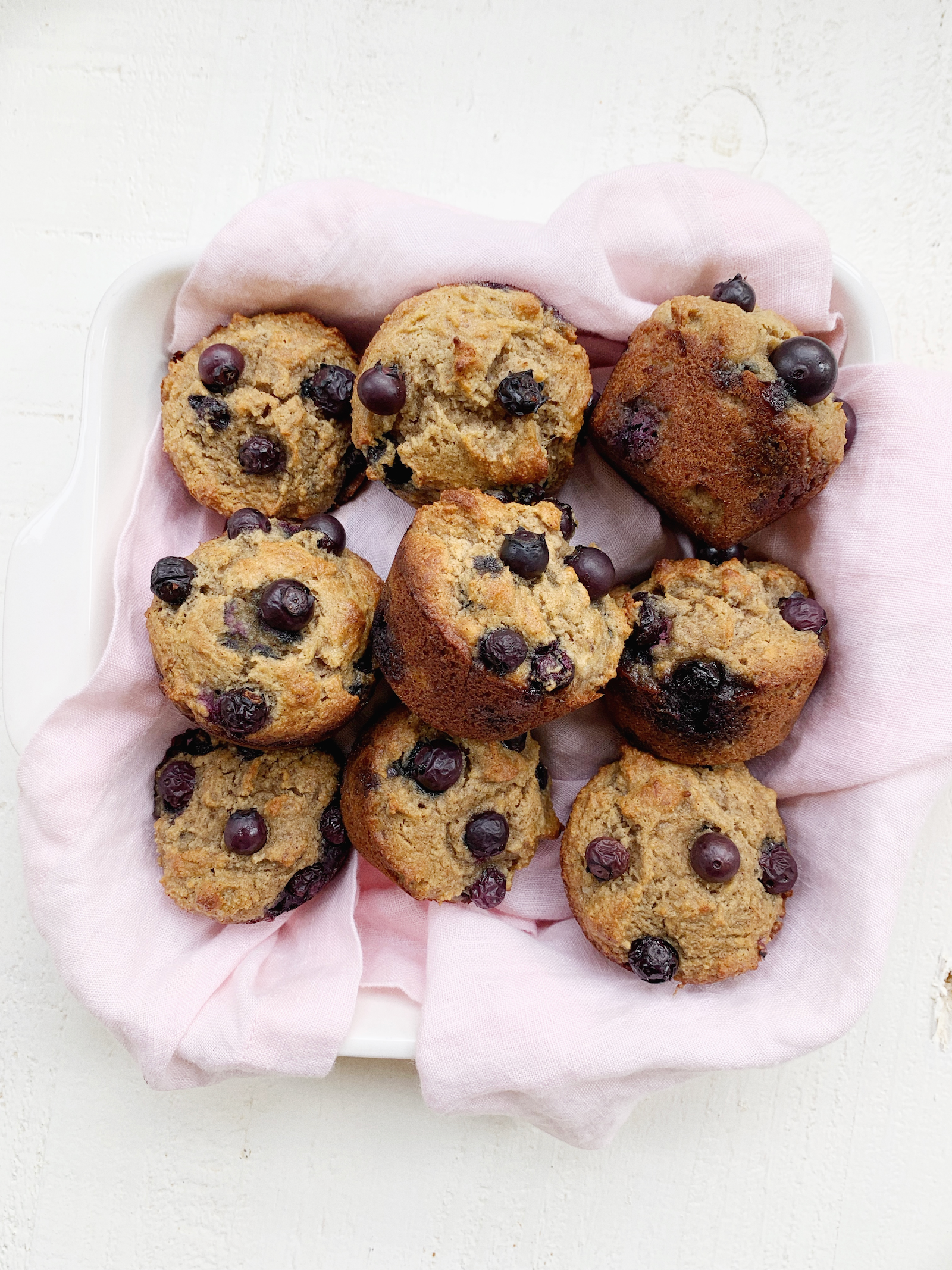 Dairy Free Blueberry Muffins Recipe