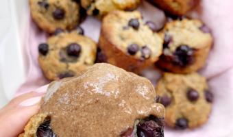 Gluten Free Dairy Free Blueberry Muffins Recipe
