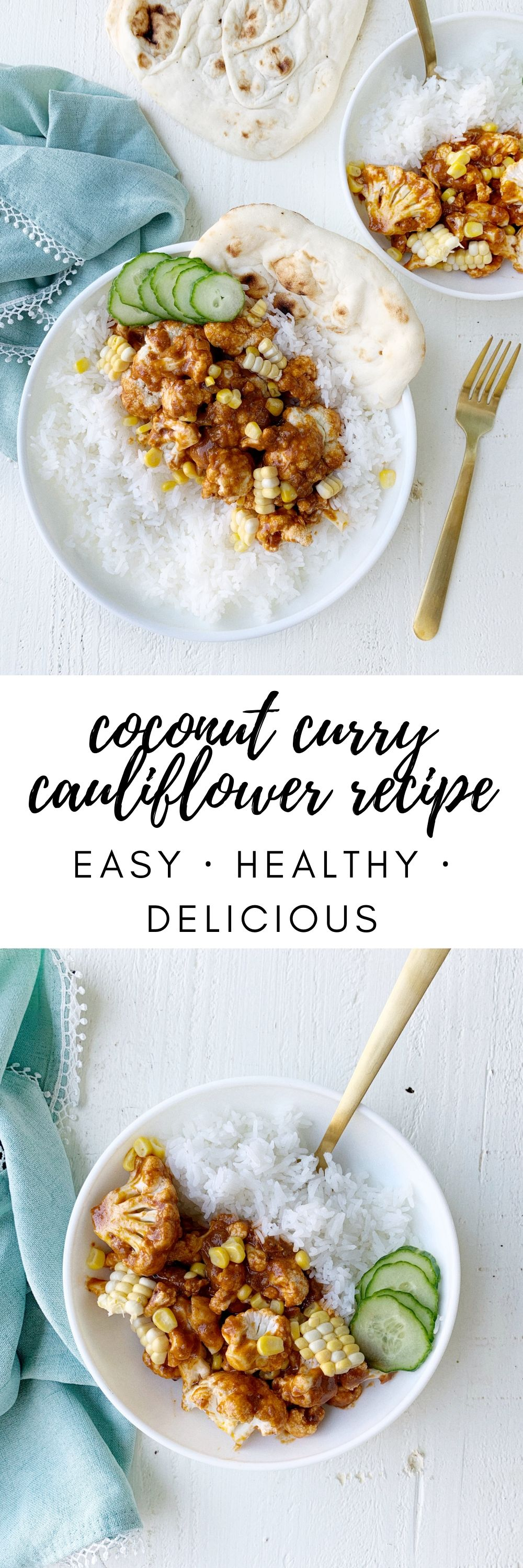 coconut curry cauliflower recipe