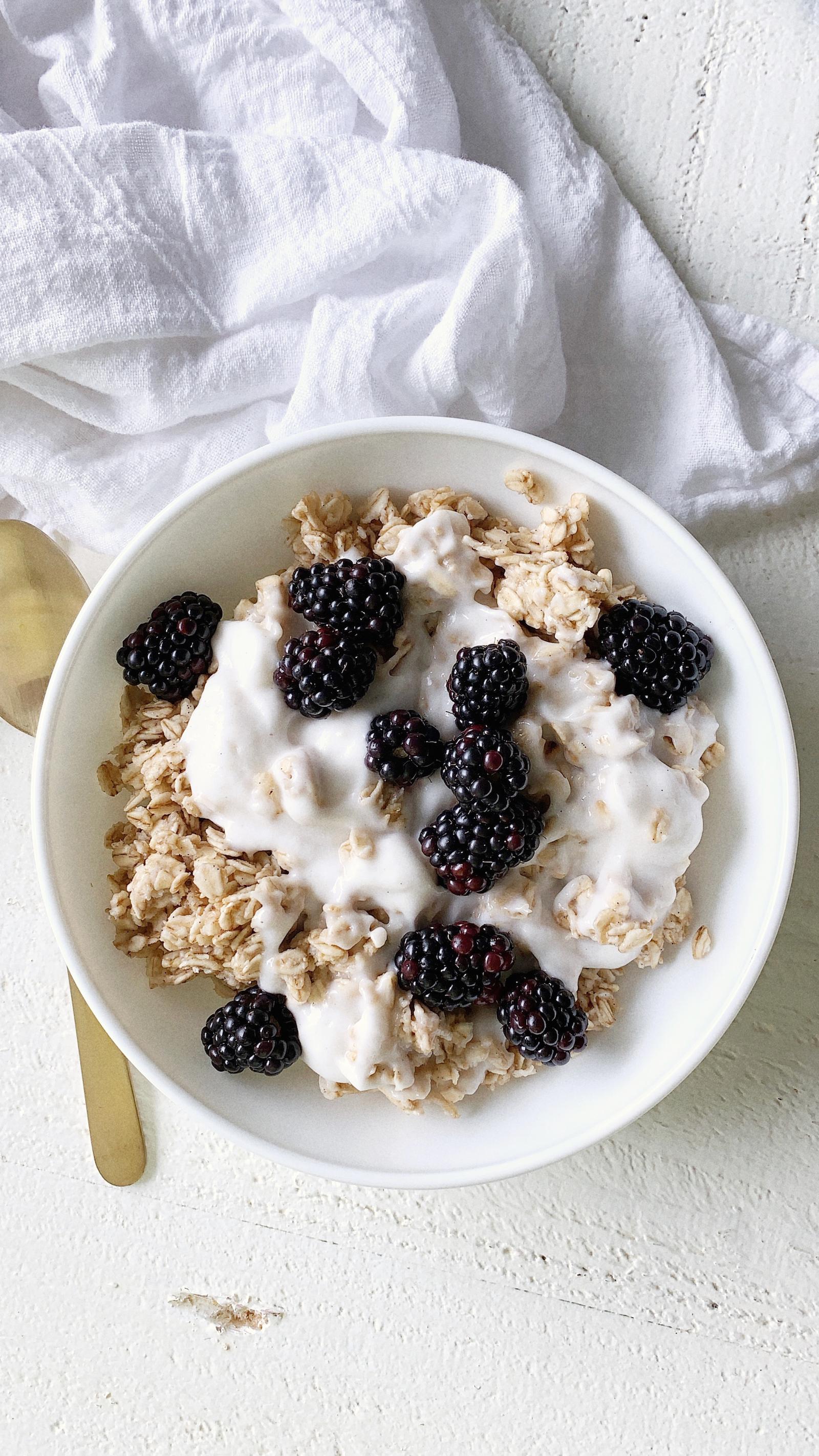 Blackberry Oatmeal Recipe