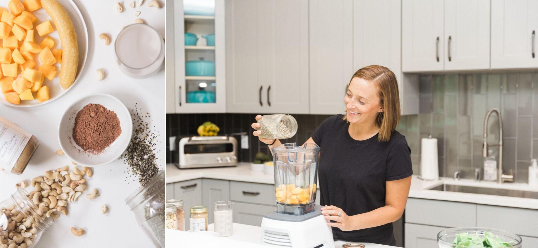 What's Gaby Cooking Mango Smoothie Recipe