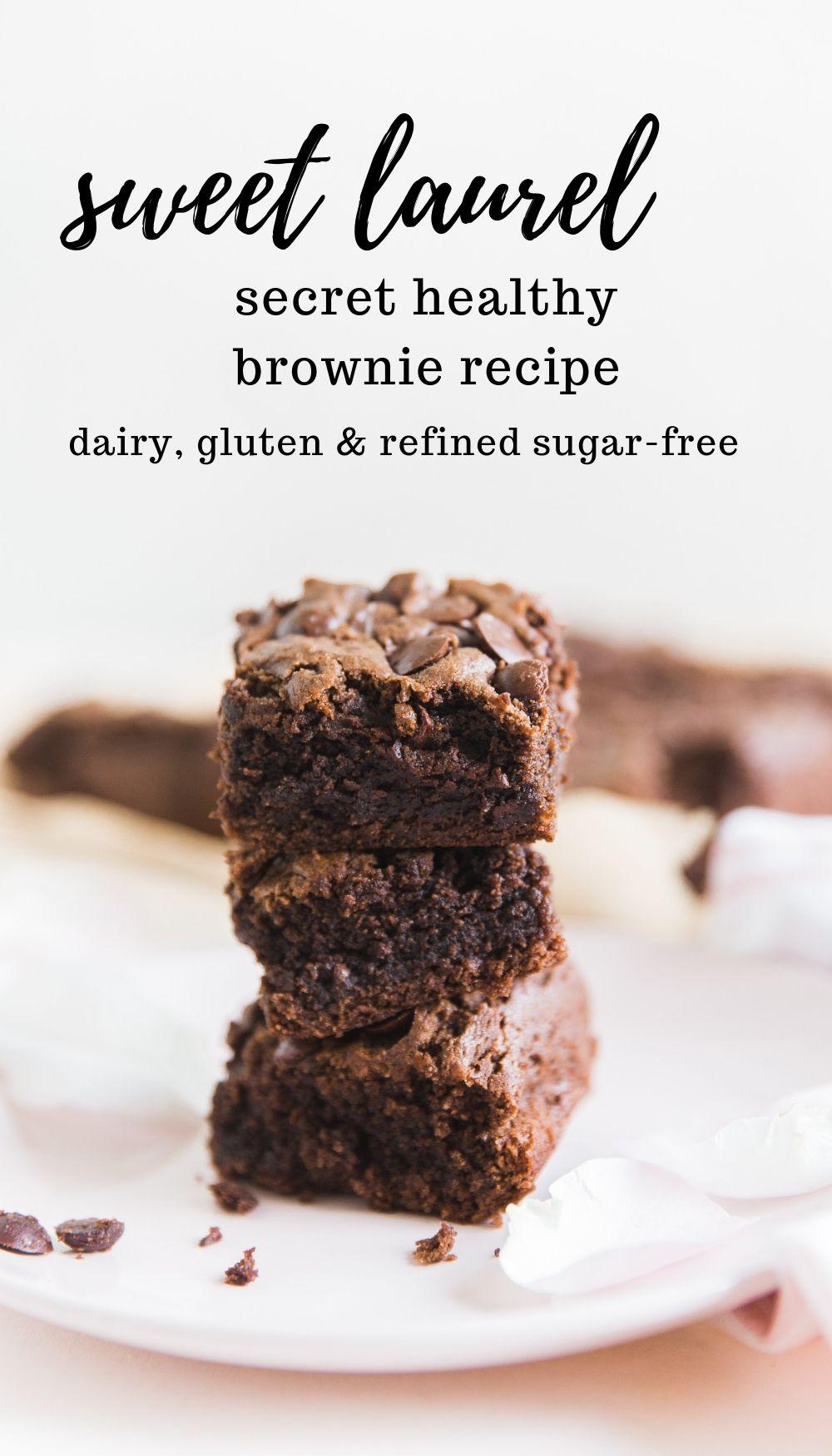 sweet laurel healthy brownie recipe