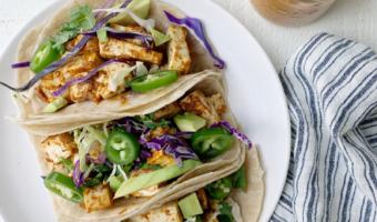 Vegan Tofu Coconut Tacos