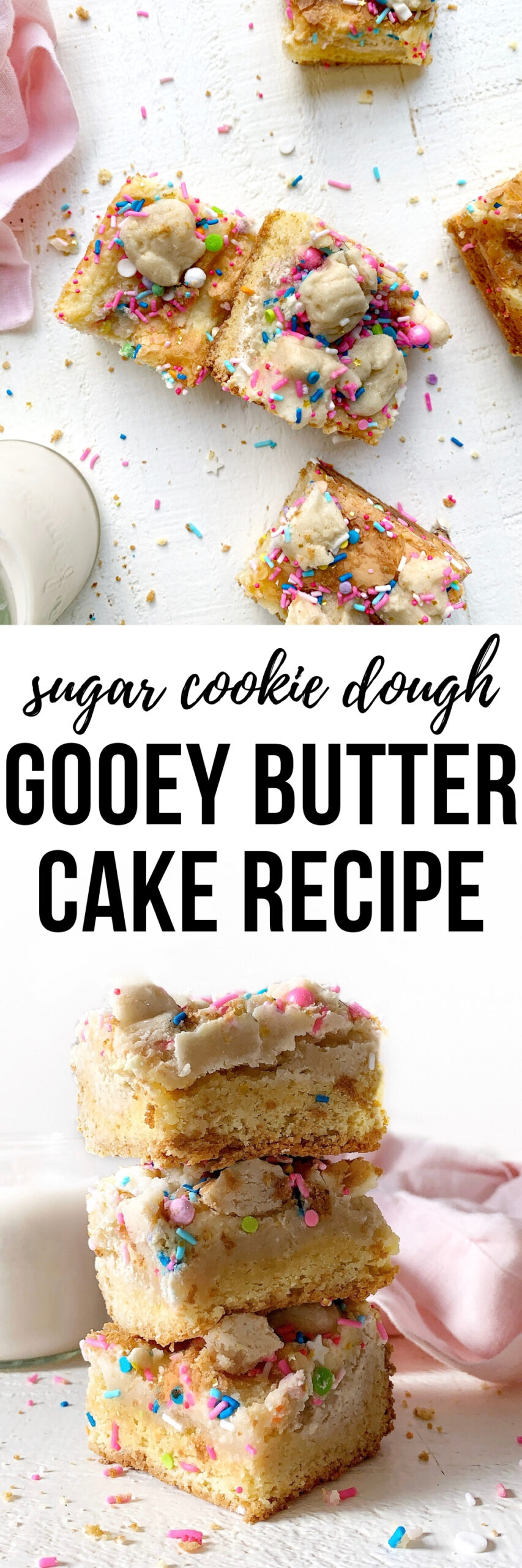 sugar cookie dough gooey butter cake recipe