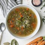 3 Step Nutrient Dense Veggie Bone Broth Soup Recipe