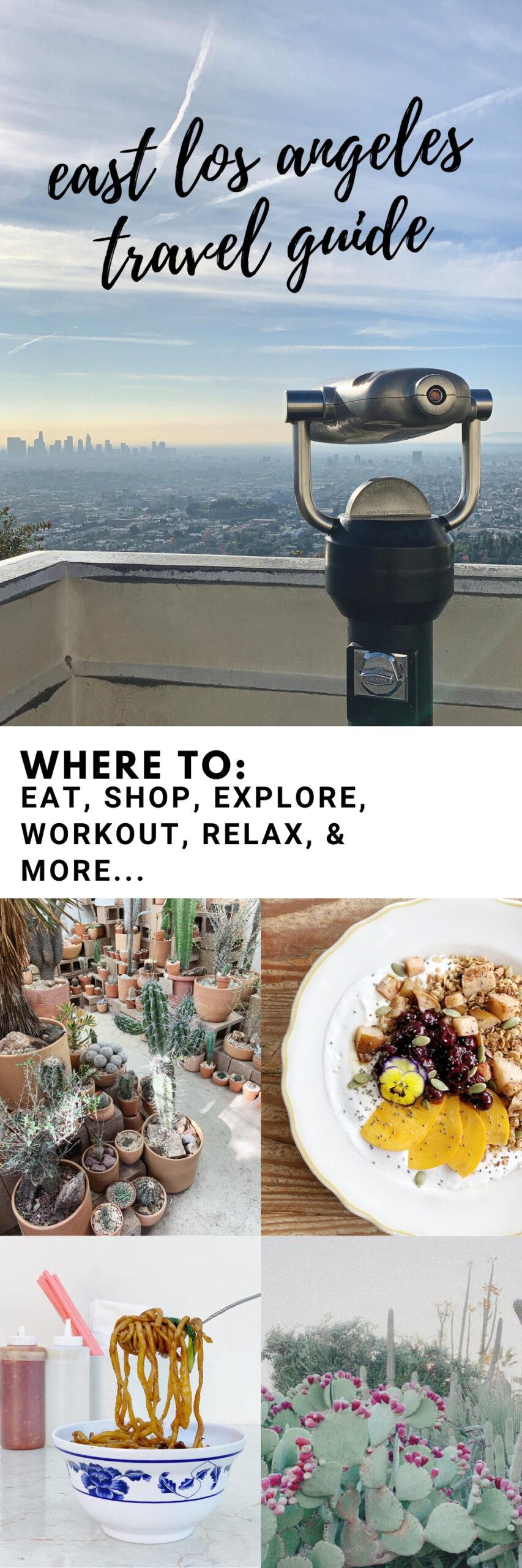 east LA travel guide