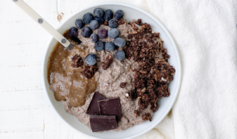 1 step Chocolate Almond Butter Chia Seed Pudding Recipe