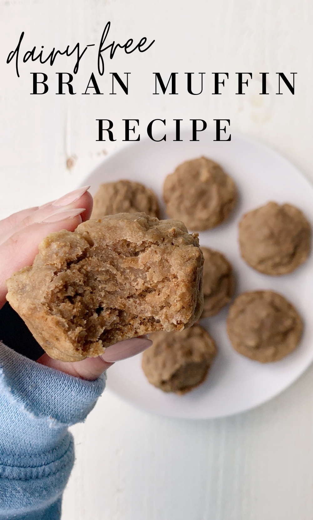 dairy-free bran muffin recipe