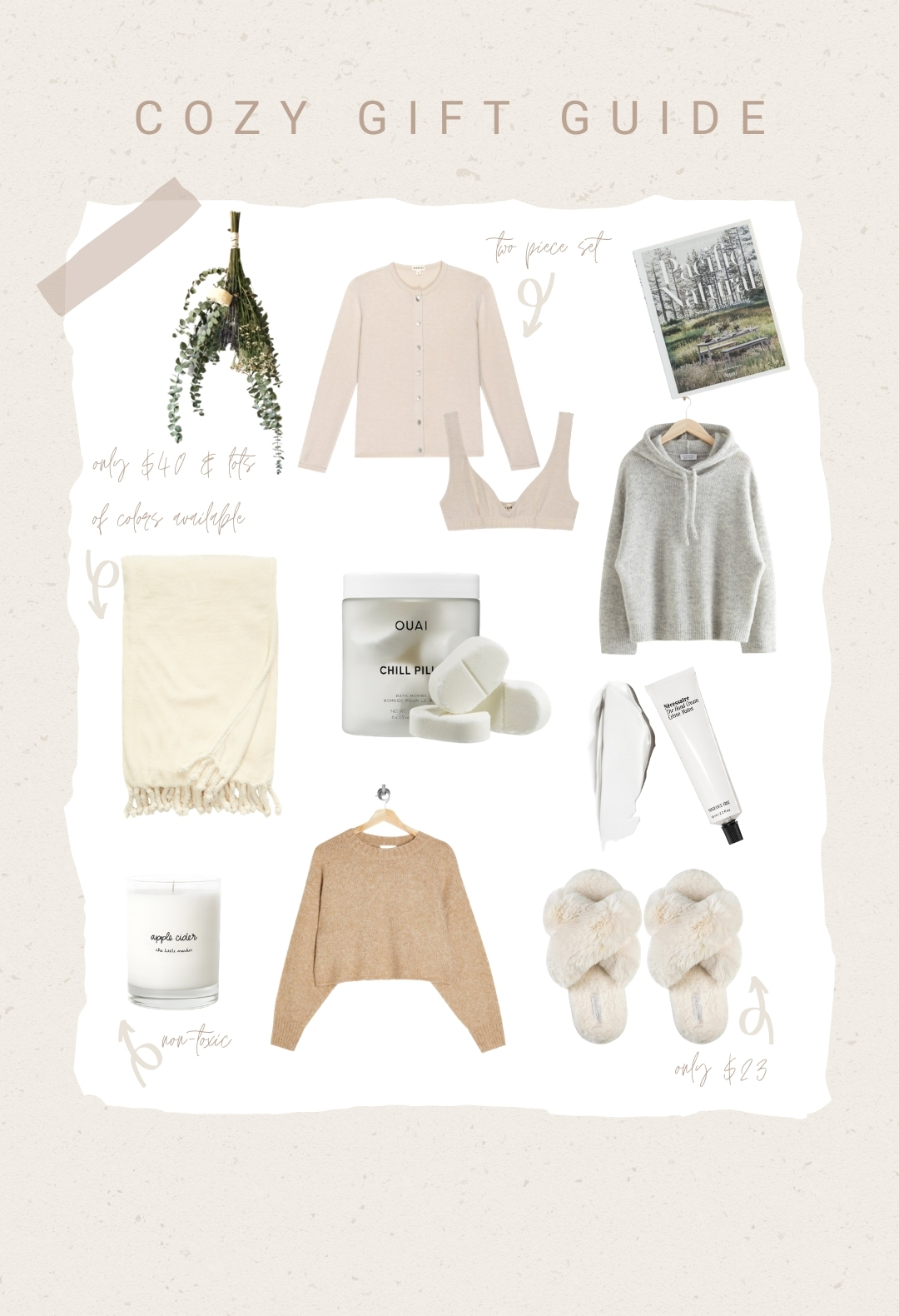 Cozy Gift Guide 2020