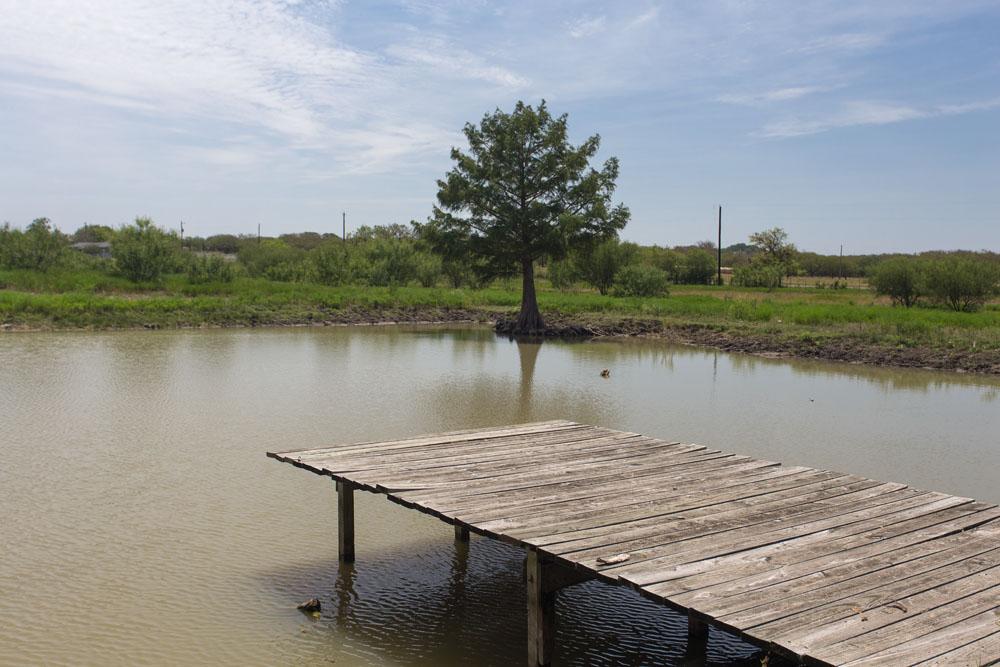 The dock at Parker's Pond