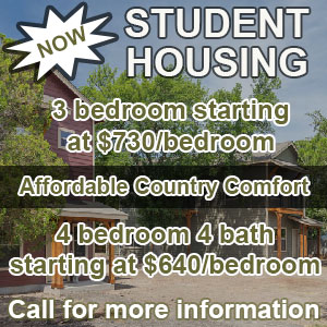 Student Housing Texas State University