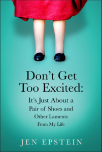 Book Reading : Don't Get Too Excited: It's Just About a Pair of Shoes and Other Laments From My Life. @ Brooklyn Society for Ethical Culture