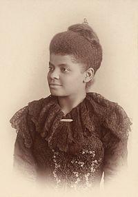 While She Waits for The Freedom - In honor of Ida B. Wells