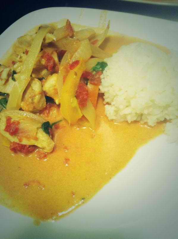 COCONUT CURRY RECOVERY MEAL RECIPE