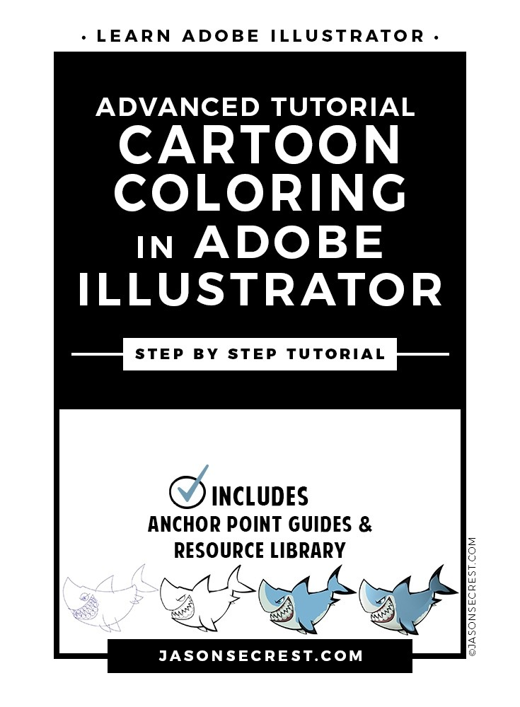 Advanced Illustrator Coloring Tutorial