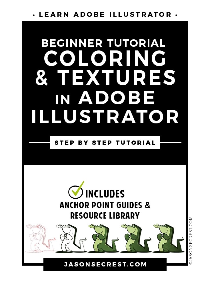 Adobe Illustrator Tutorial adding Texture