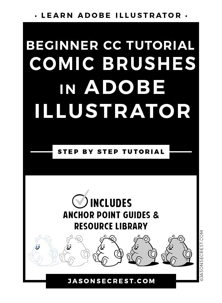 beginner-illustrator-cc-tutorial-comic-brushes