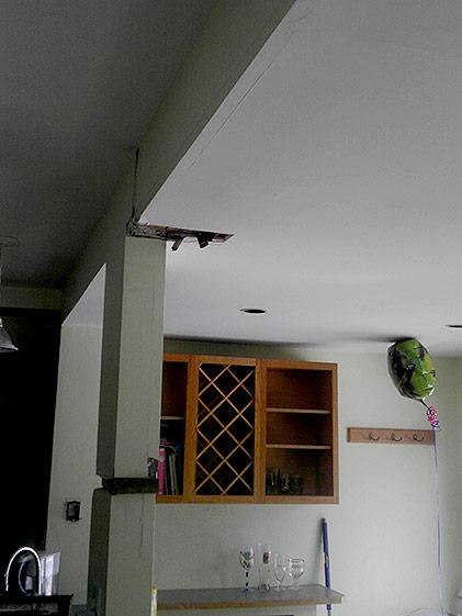 Kitchen Interior Post Prior to Removal