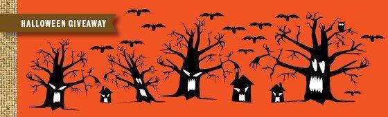 Halloween Spooky Trees
