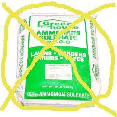 ammonium+sulfate+X