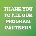 Thank you to all our program partners