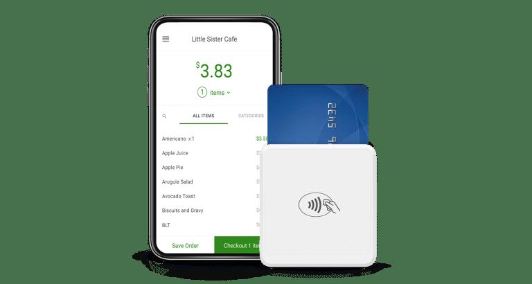 Banktech Clover Go transaction