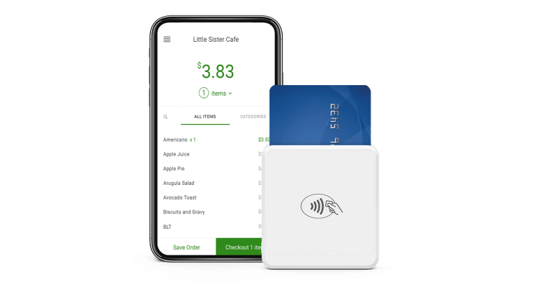 Banktech Clover Go transaction