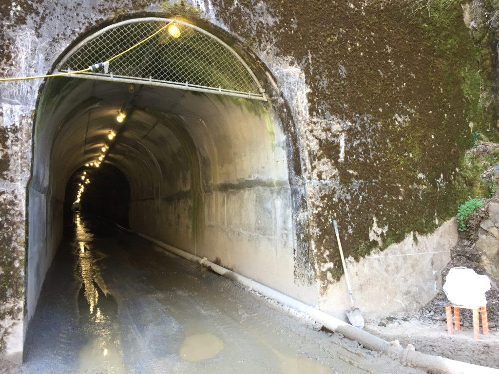 White Rock Tunnel Repair