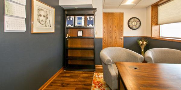 High School Home Remodel - Meeting Room