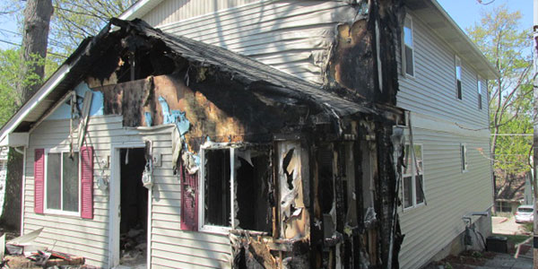 House Fire Exterior Before
