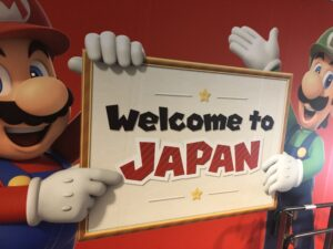 My greeting into Japan