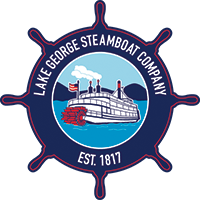 Lake George Steam Boat Company Logo for Mobile Devices