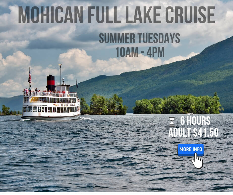 mohican full lake cruise click for more info