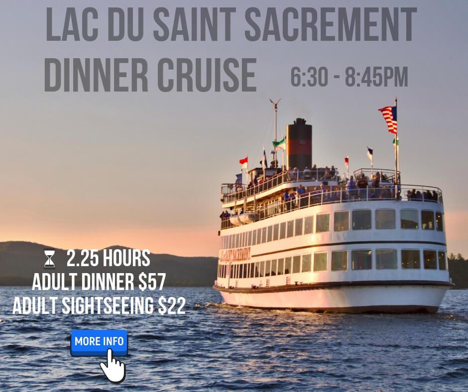 saint sacrement sunset dinner cruise click for more info