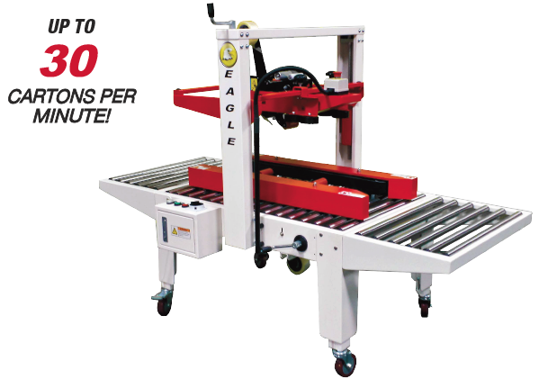 Uniform Case Sealer with Side belts
