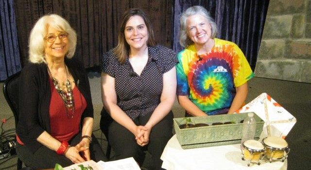 Kids Arts Festival,Betsy Sandberg, Co-Organizer and Colleen Merays, Committee Member & Table Activity Leader