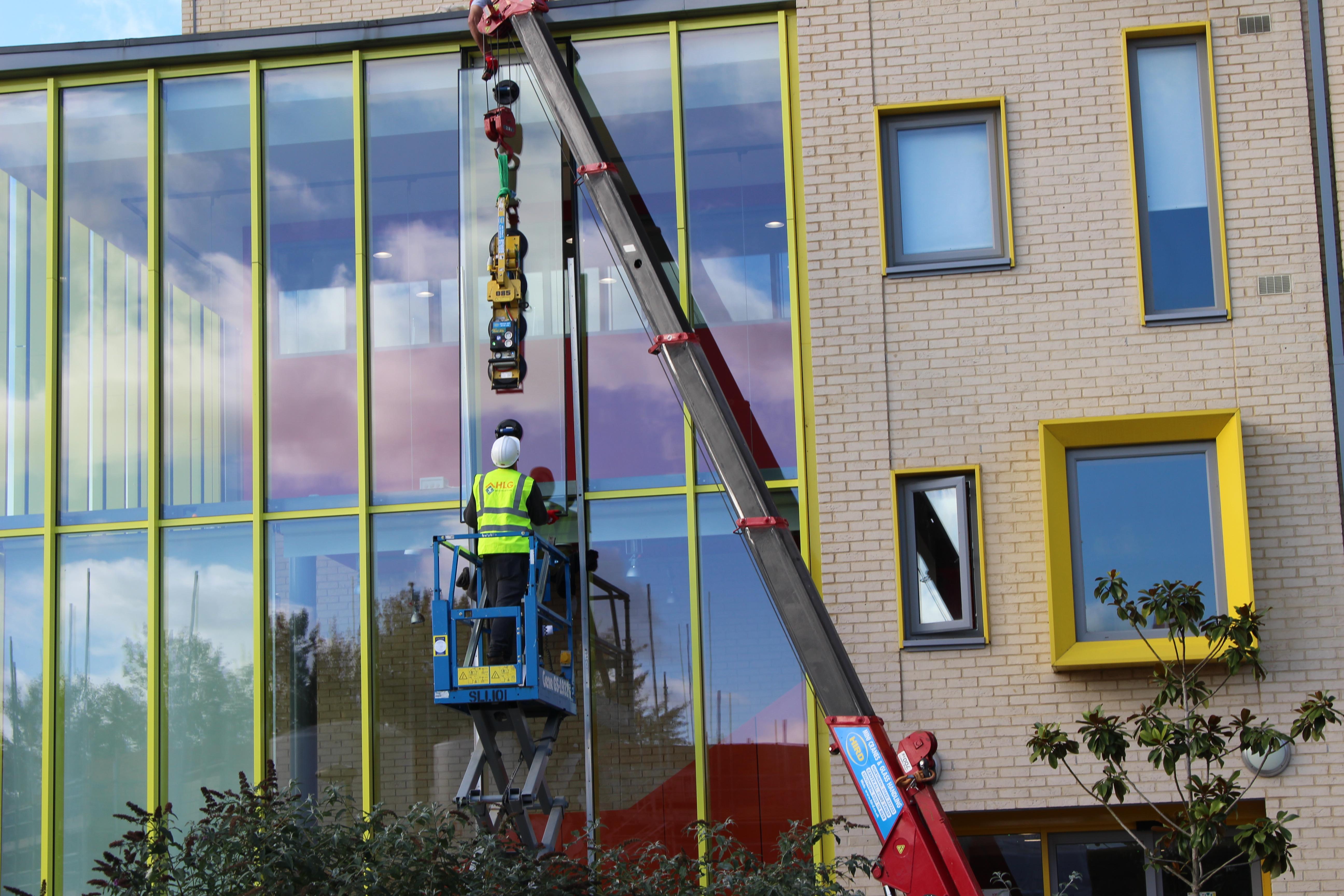 Glazing Leak Repair