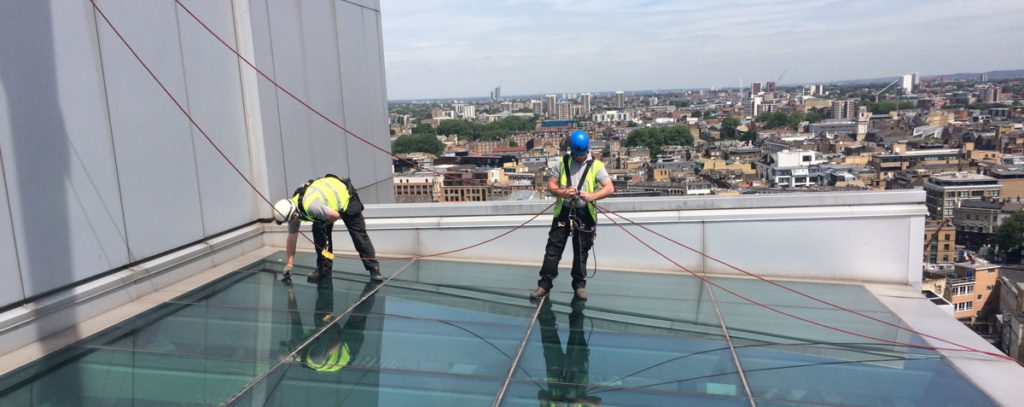 Glazing Rope Access