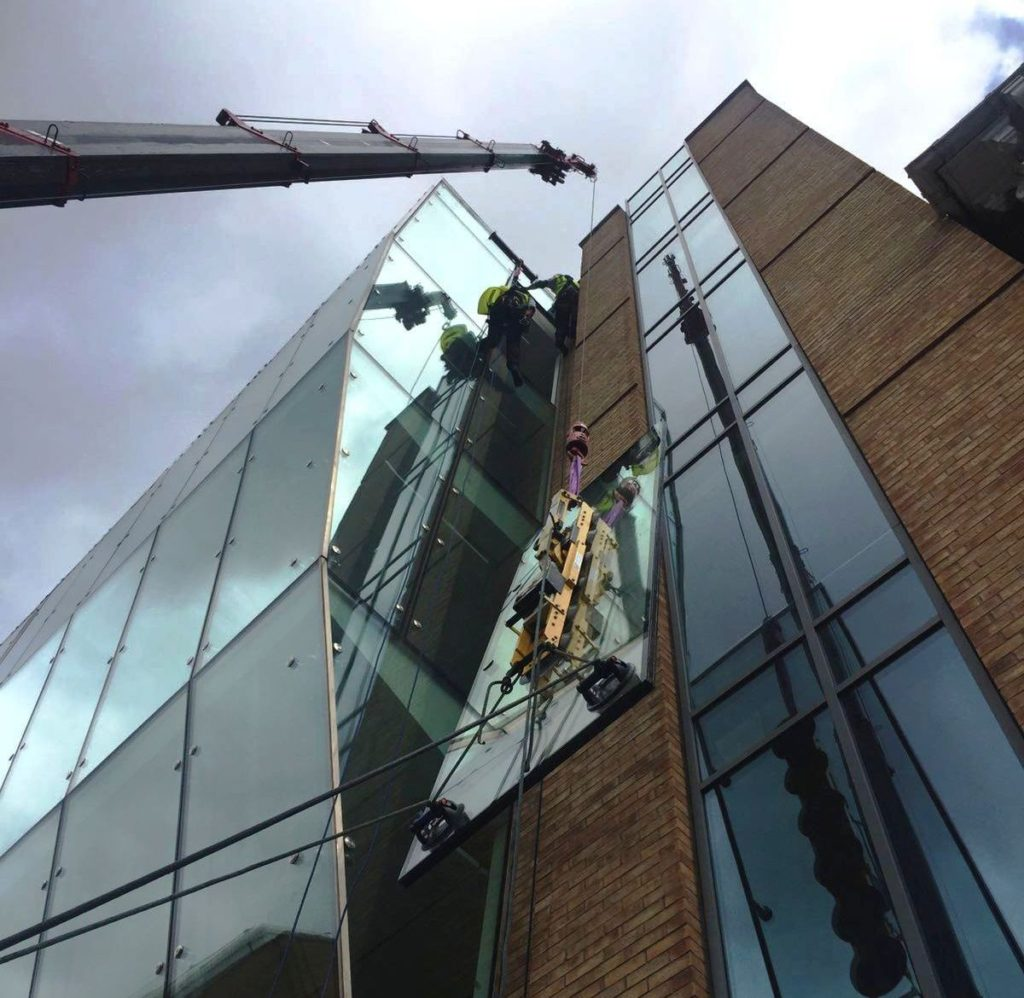 Crane Glass Repair