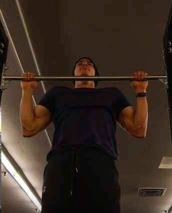 Isometric Pull Up Hold
