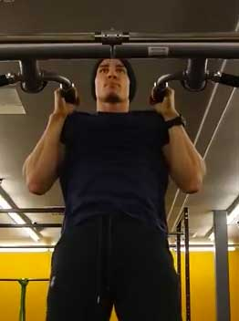 Neutral Pull Up Position