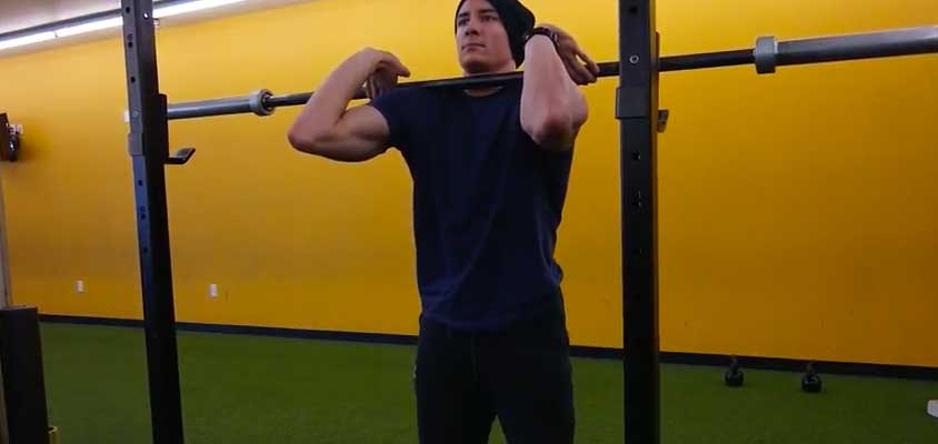 Cross Fit Front Squat Grip