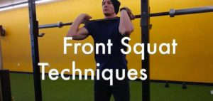 Front Squat Grip Techniques