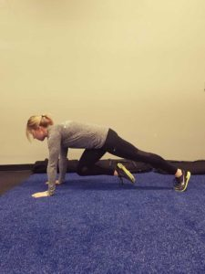 Mountain Climbers Position 2