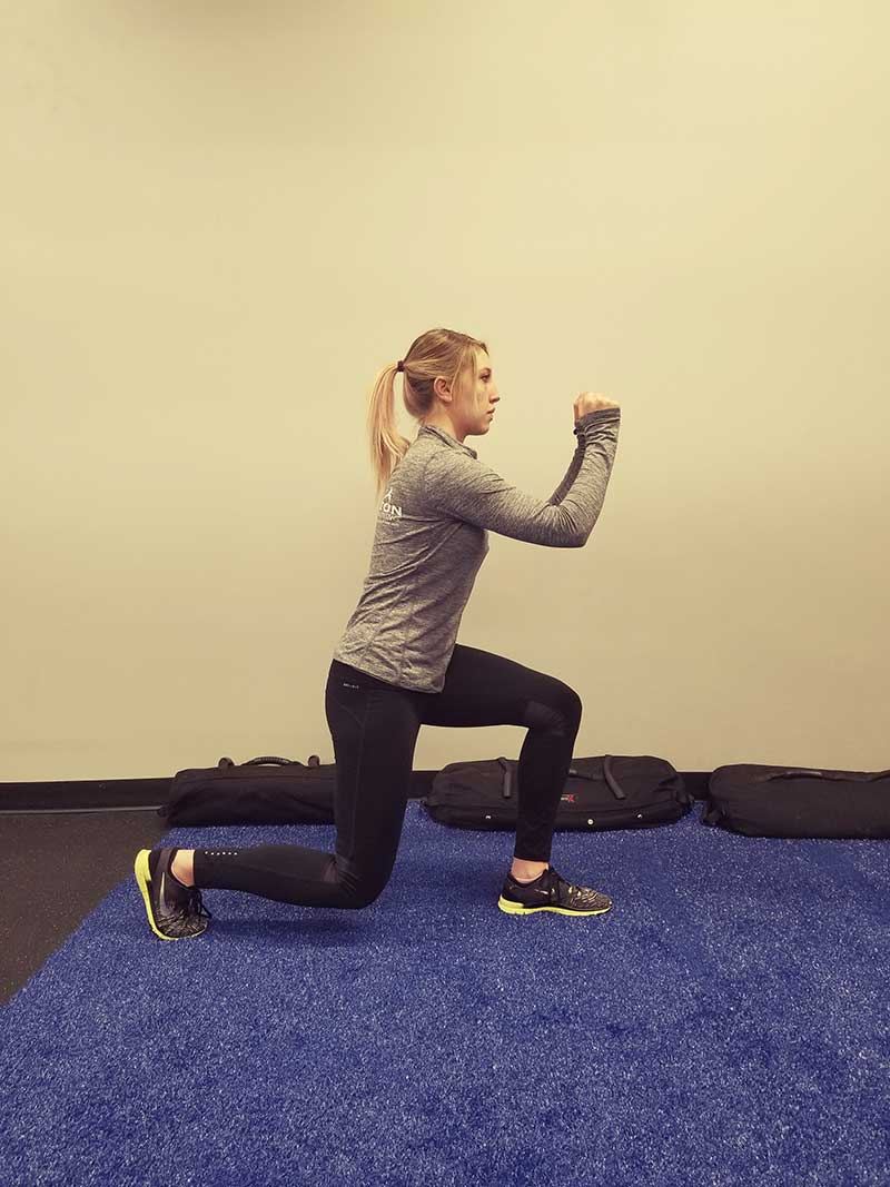 Squatting Lunge Position 2