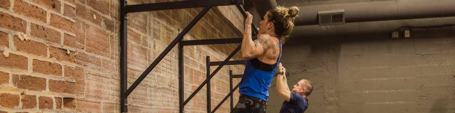 Pull ups in Vancouver, WA workout class