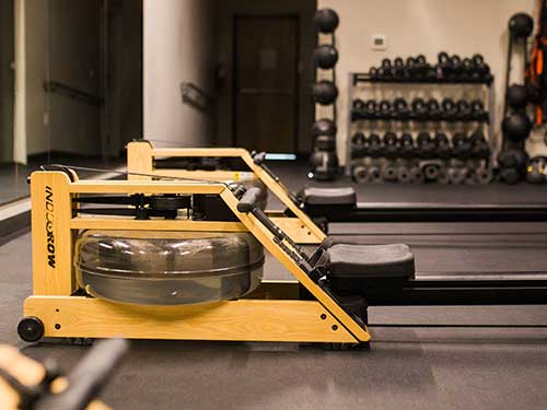 Rowing machines at Vancouver, WA gym