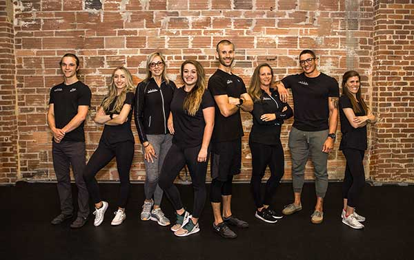 Personal trainers at Precision Personal Training