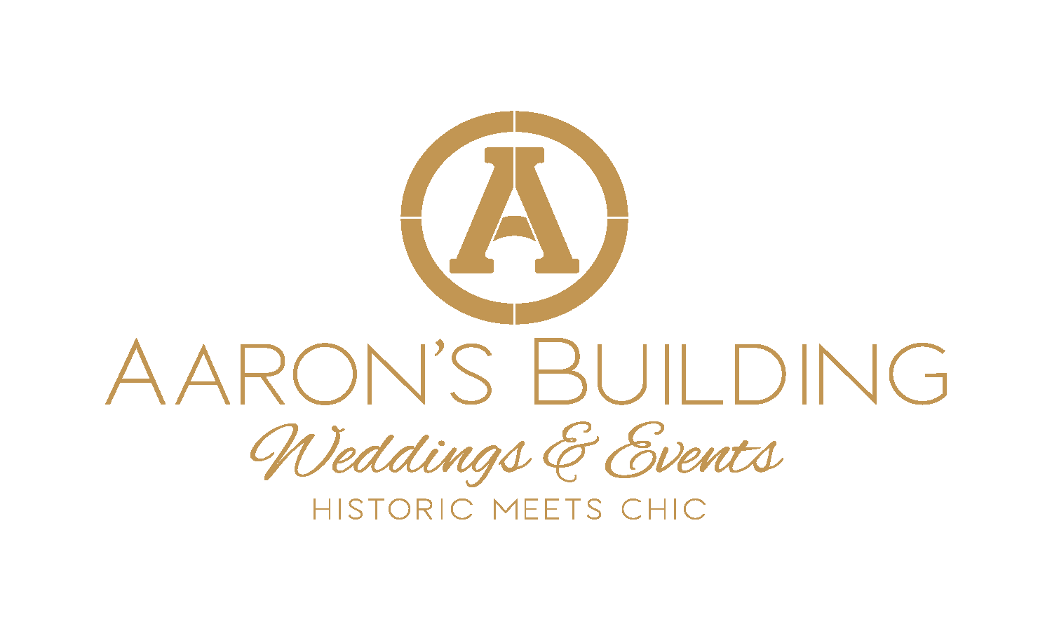 The Aaron's Building Logo